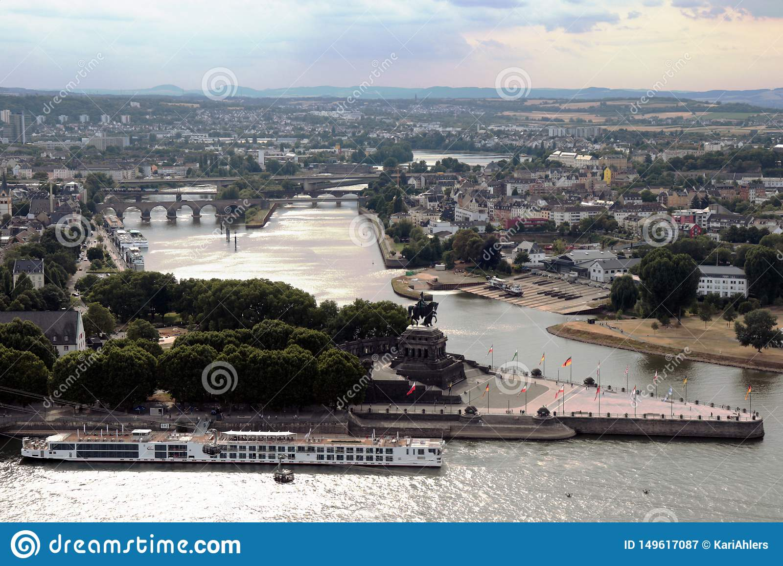 Staden av Koblenz, Tyskland