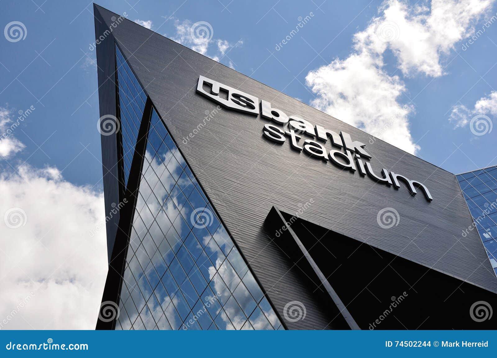 Stadio della Banca degli Stati Uniti di Minnesota Vikings a Minneapolis