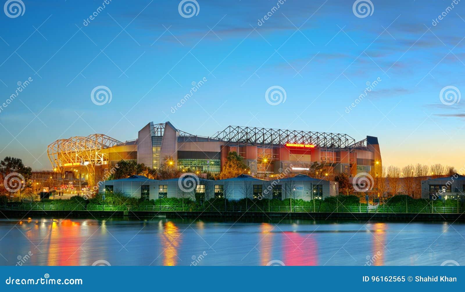 Stadio di football americano Inghilterra Regno Unito di Manchester United