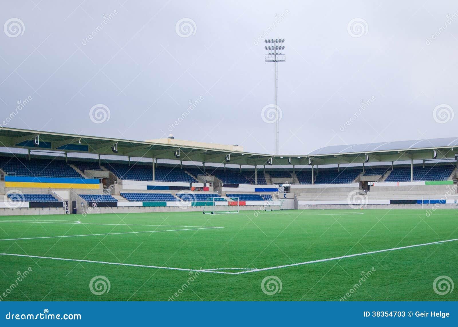 Stadio di football americano vuoto