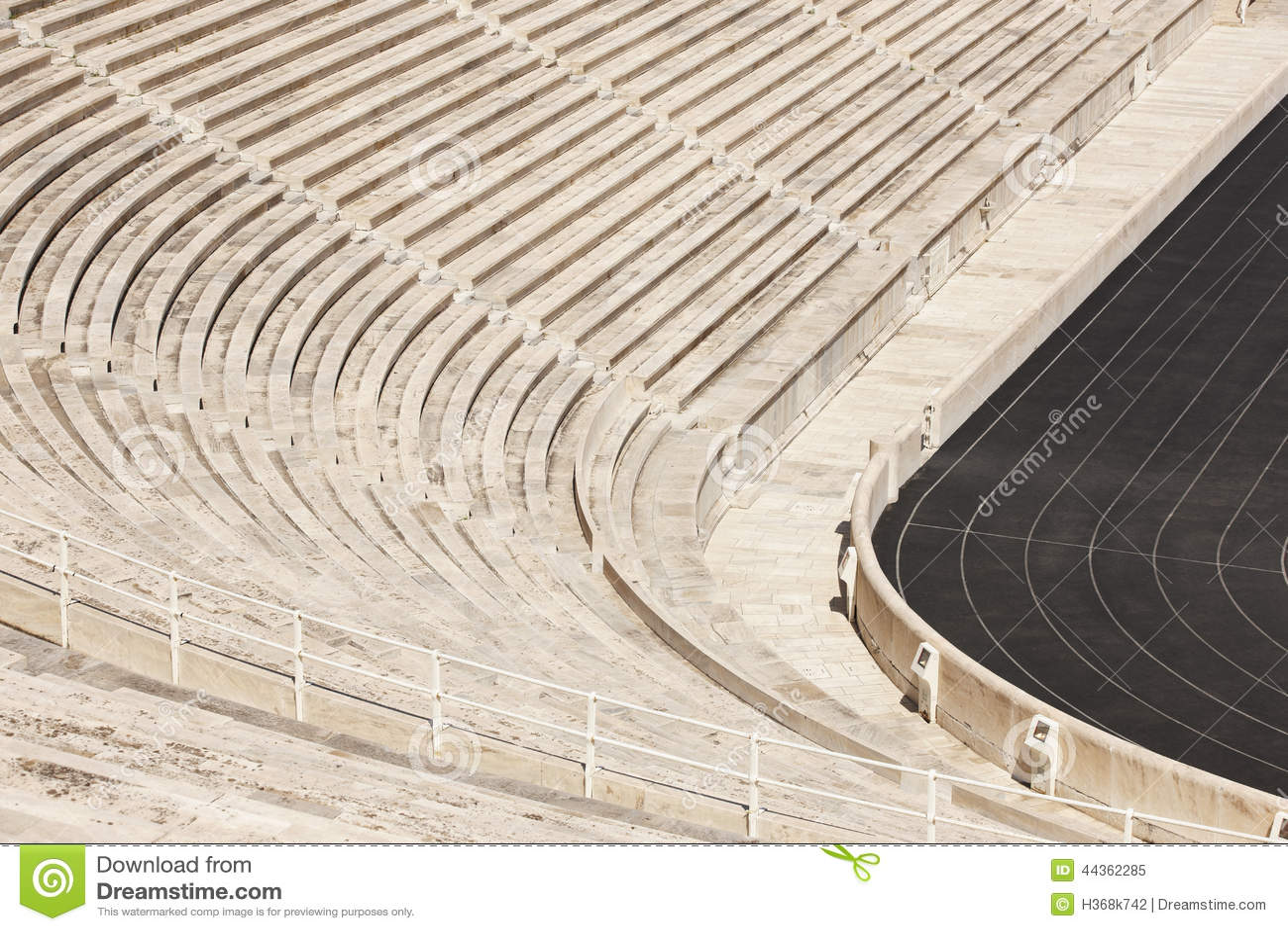 Stadio panatenaico a Atene La Grecia