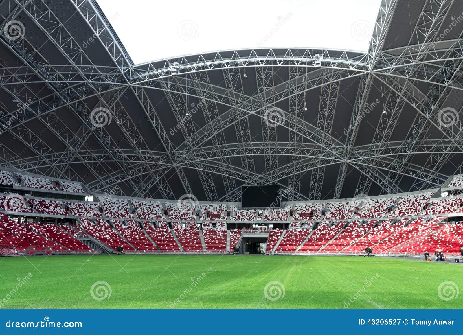 Download Stadion fotografering för bildbyråer. Bild av lawn, ordnings - 43206527