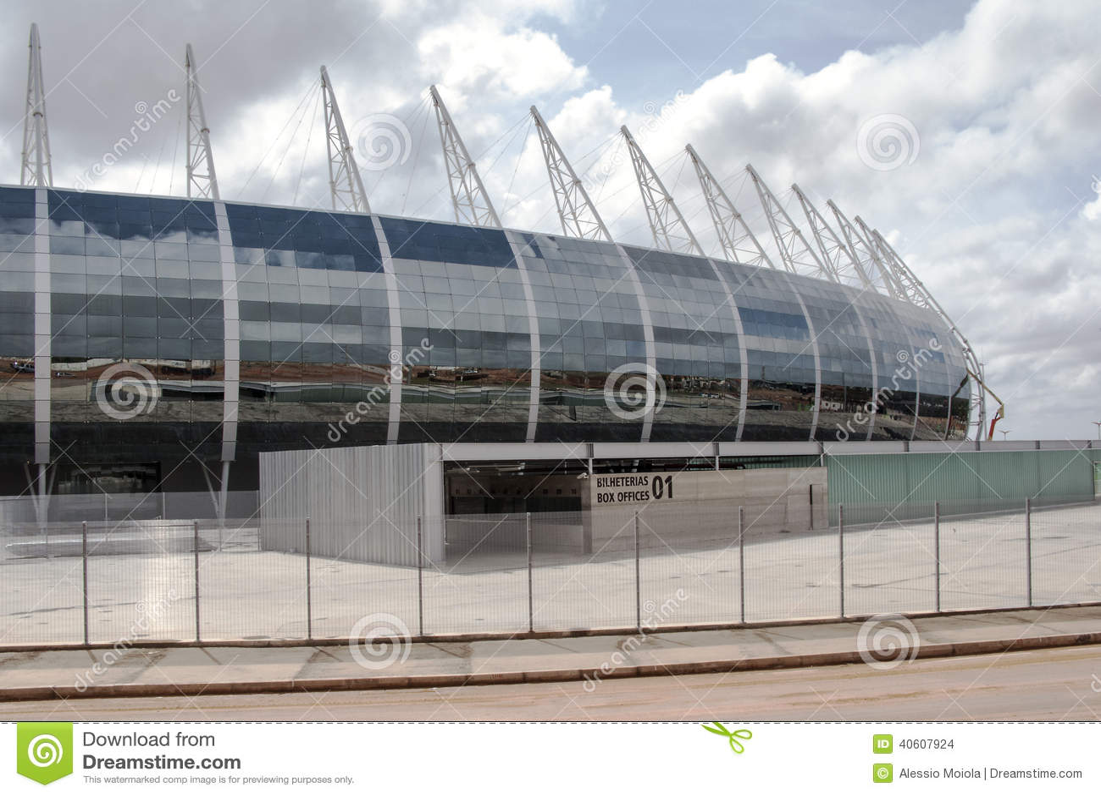 Stadion futbolowy Fortaleza, Brazylia