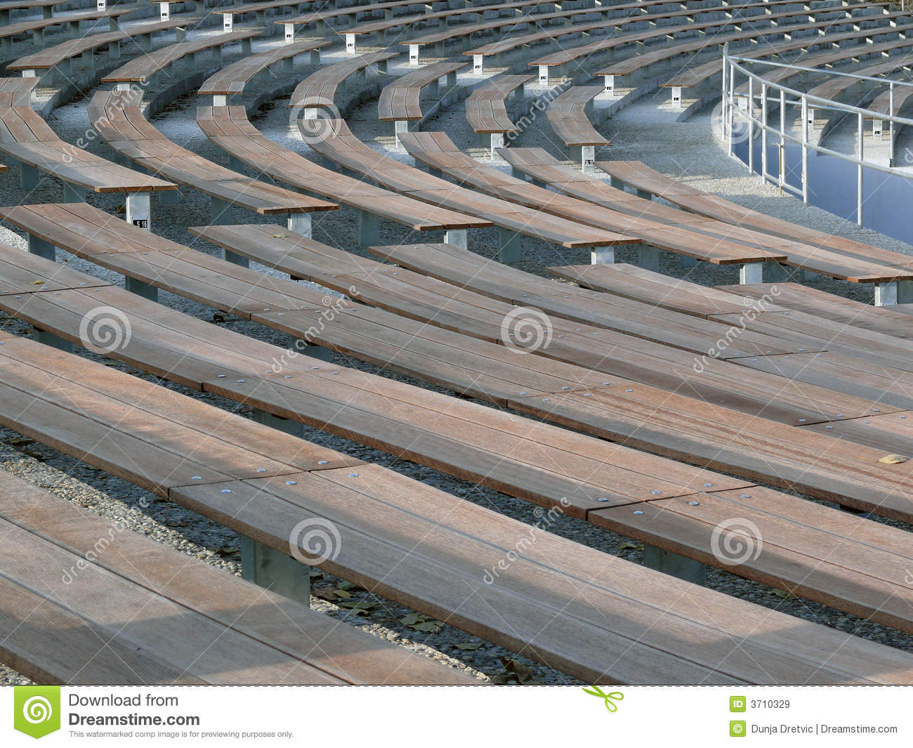 stadium benches stock image. image of empty, places, beach - 3710329