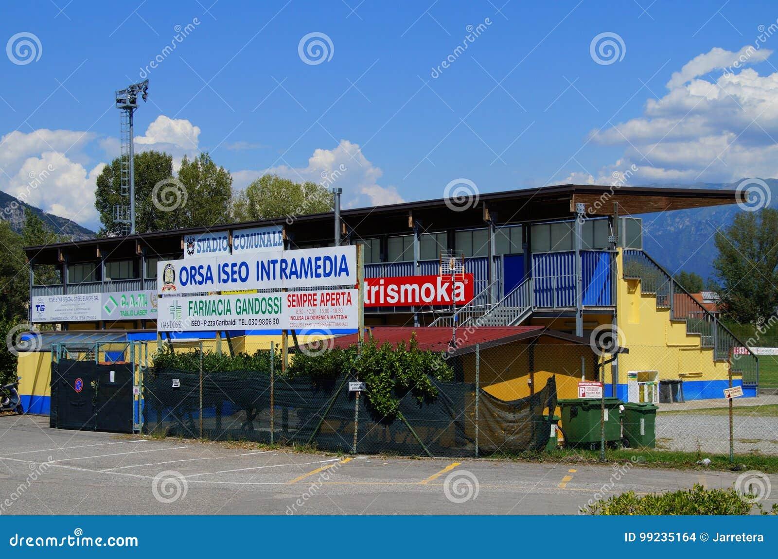 Stadium piłkarski Iseo