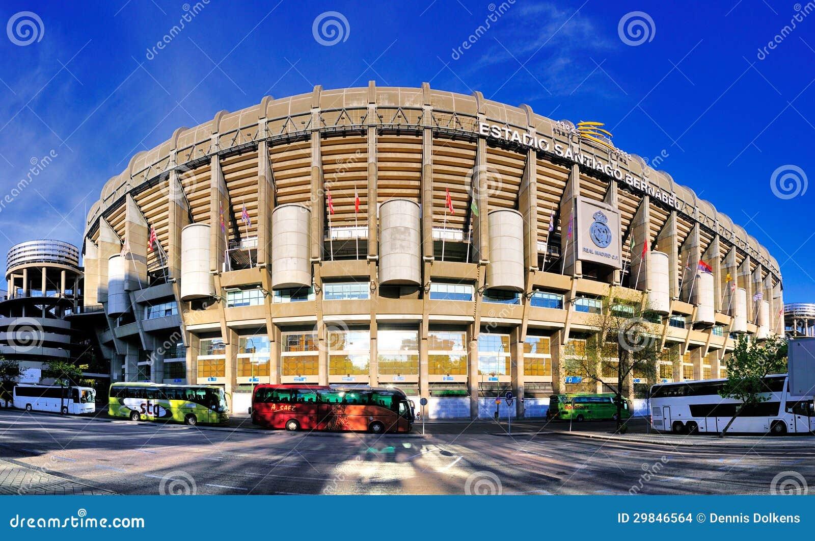 Stadium of real madrid spain editorial stock image for Estadio arena