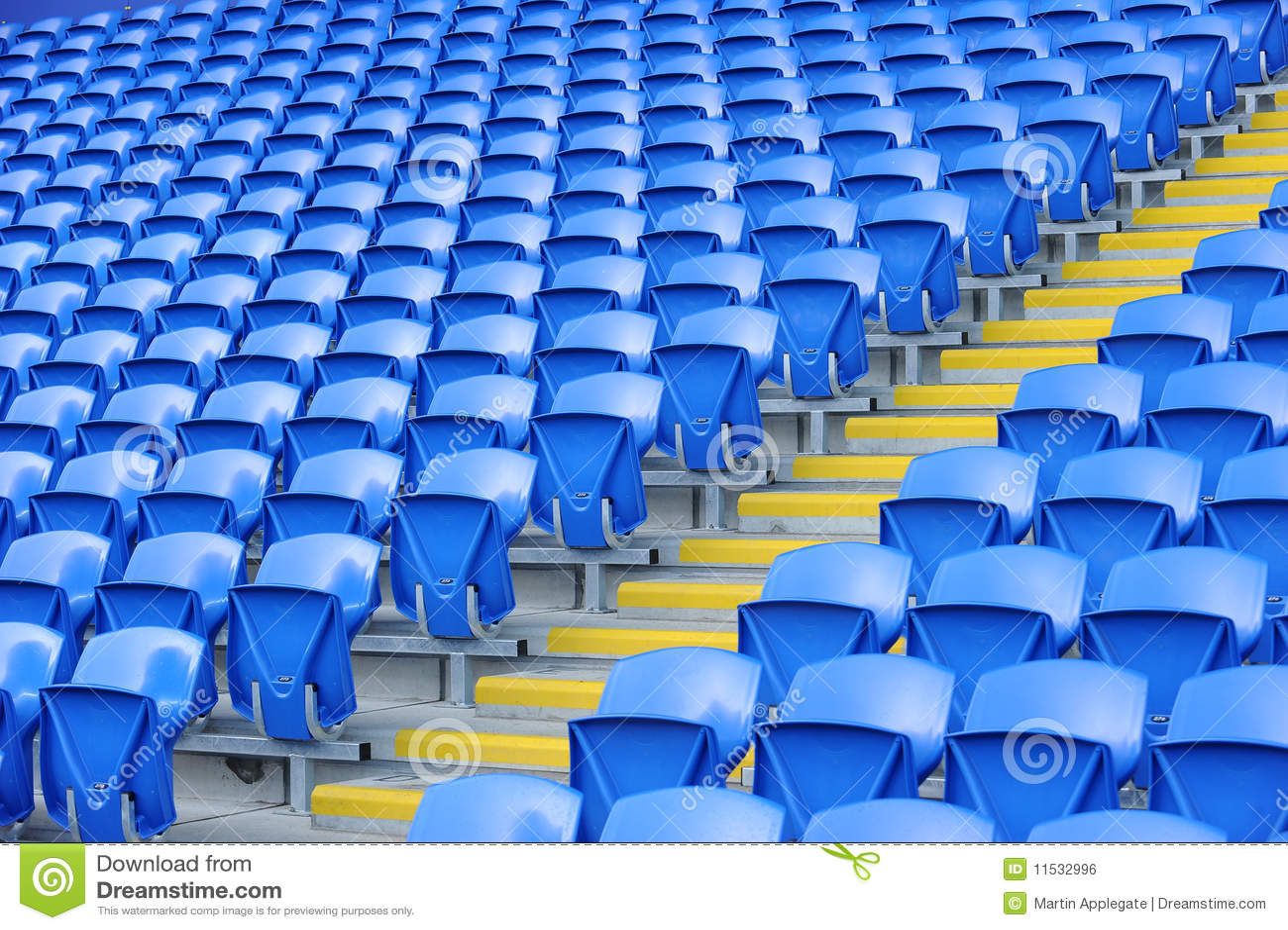 stadium seating stock photo  image of arena  colorful