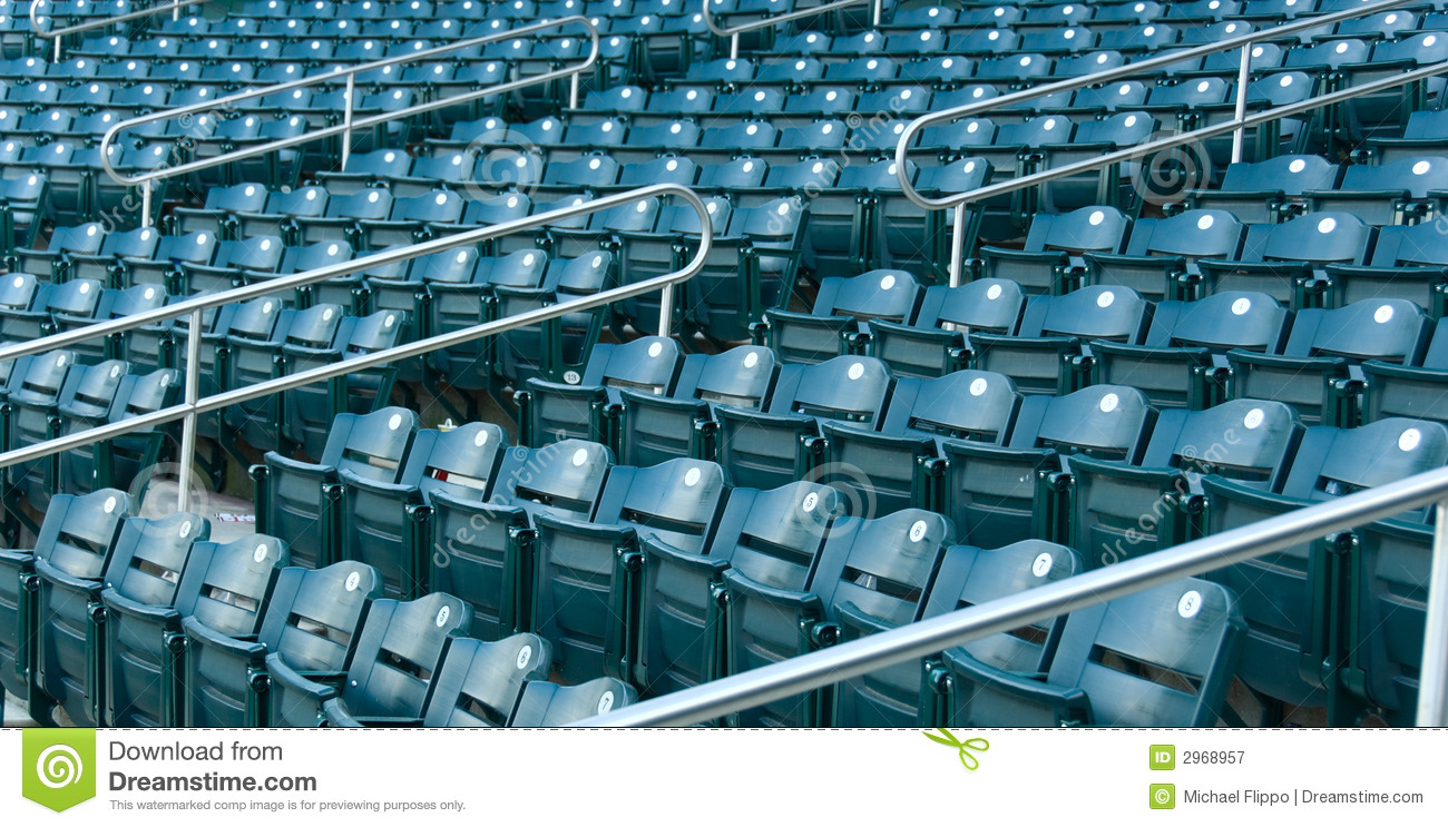 Stadium Seating Royalty Free Stock Photography Image
