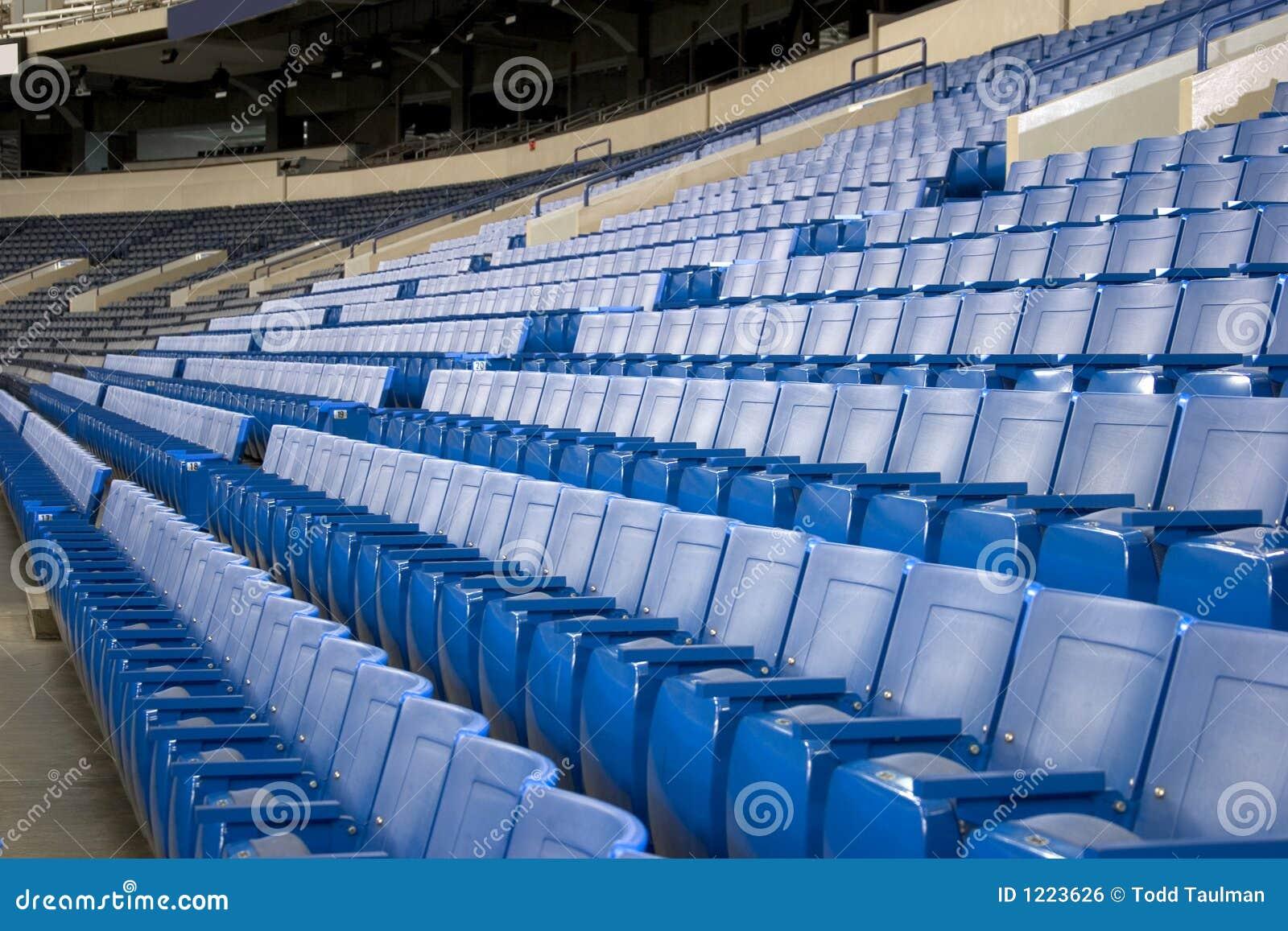 Stadium Seats Stock Photo Image Of Event Plastic