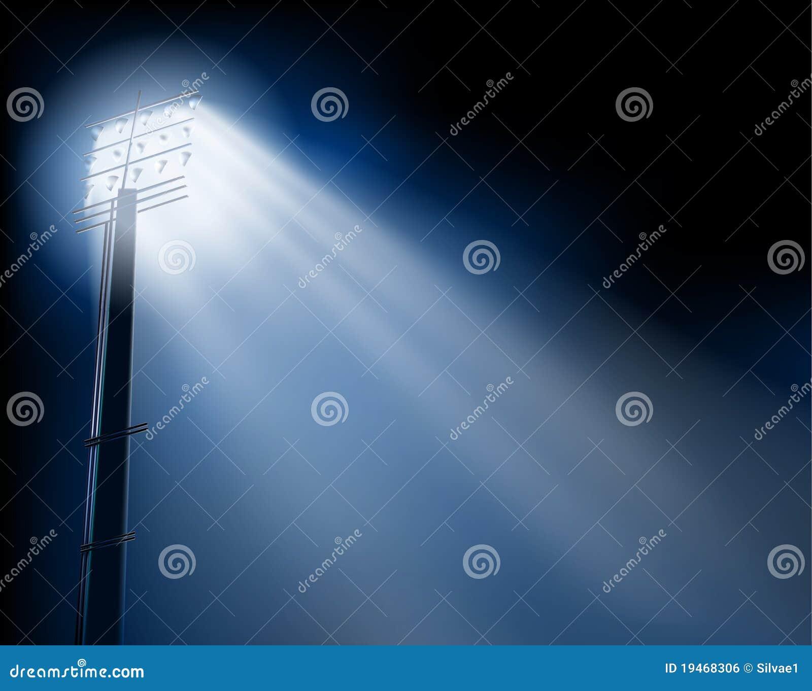 Stadium Lights Svg: Stadium Spotlights Royalty Free Stock Image