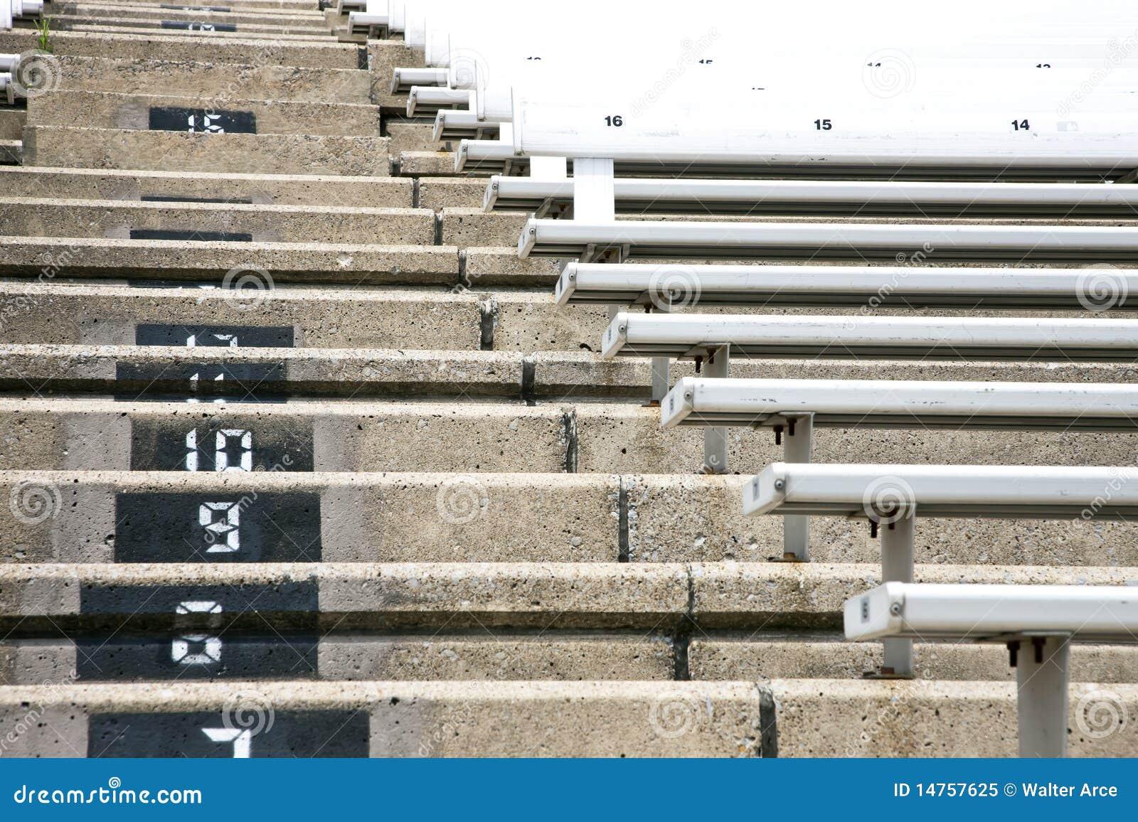 Stadium Stairs Stock Image Image Of Unique Concert 14757625