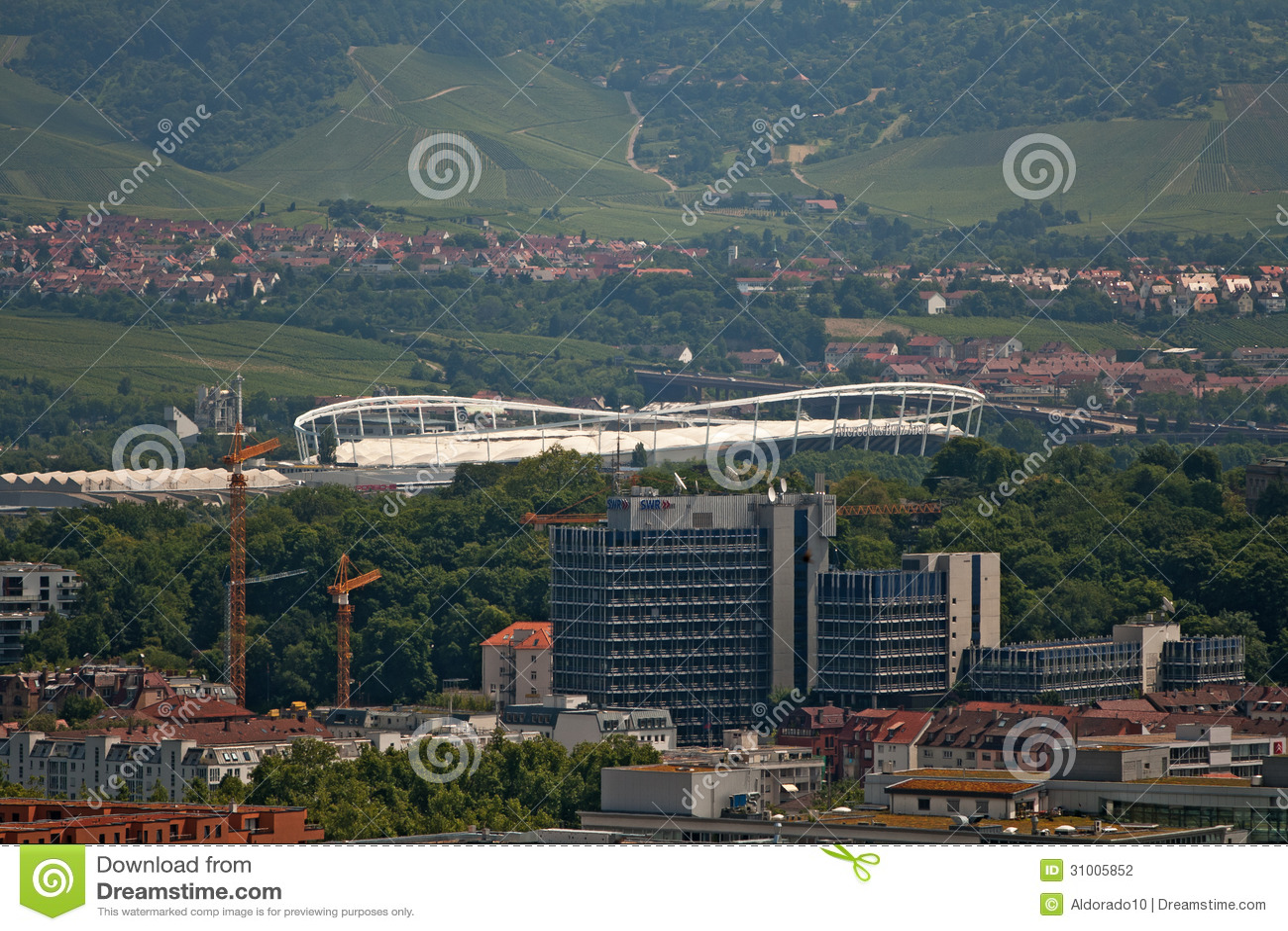 Stadium stuttgart editorial photography image 31005852 for Mercedes benz website germany