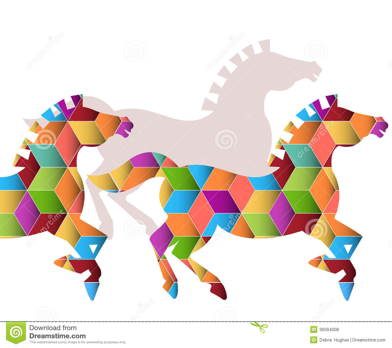 Stado Graficzni konie