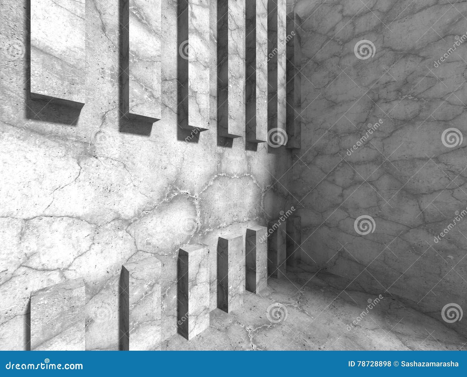 Stads- bakgrund för betongväggarkitektur