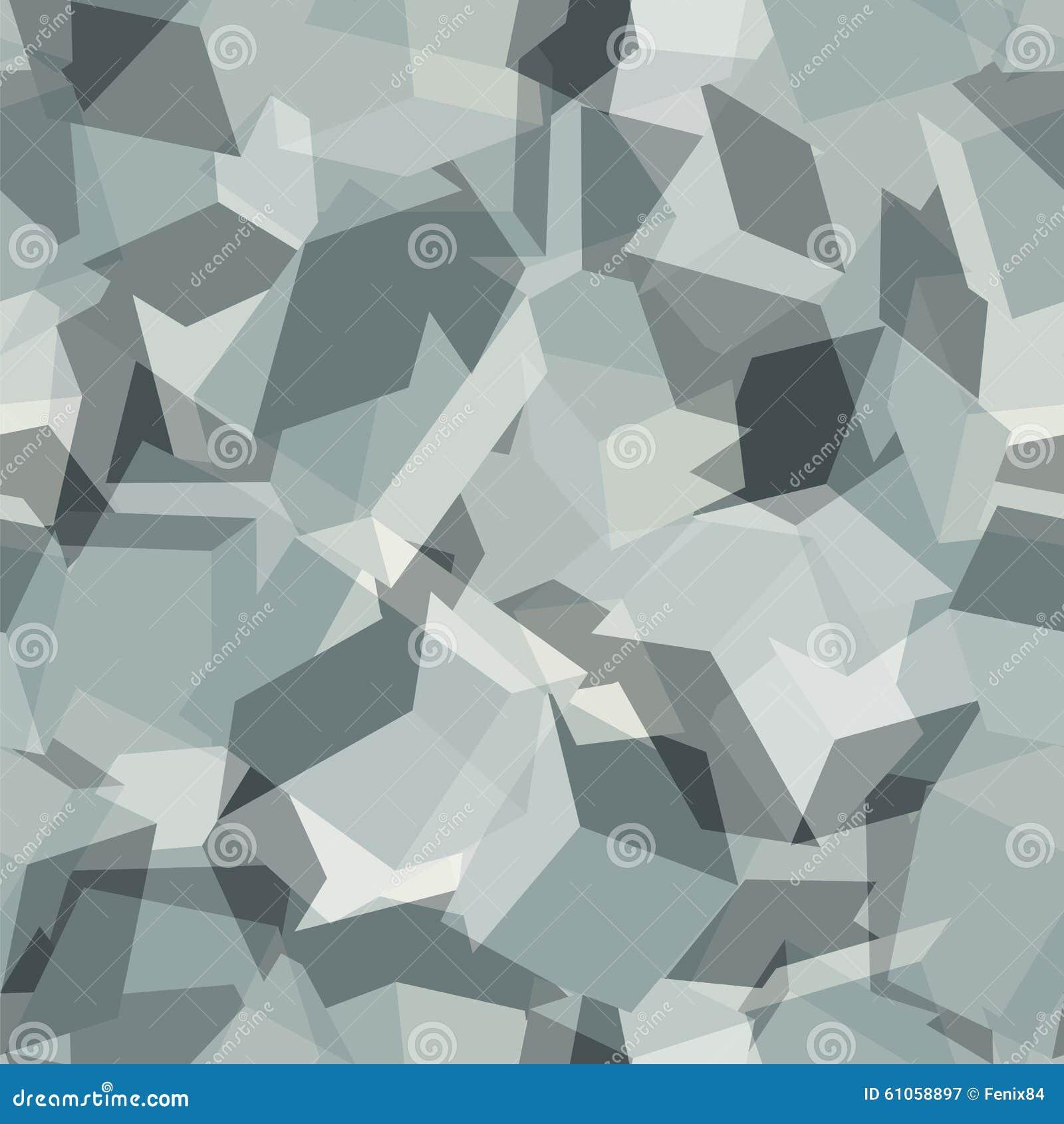 Stads- geometrisk kamouflage Digital sömlös modell