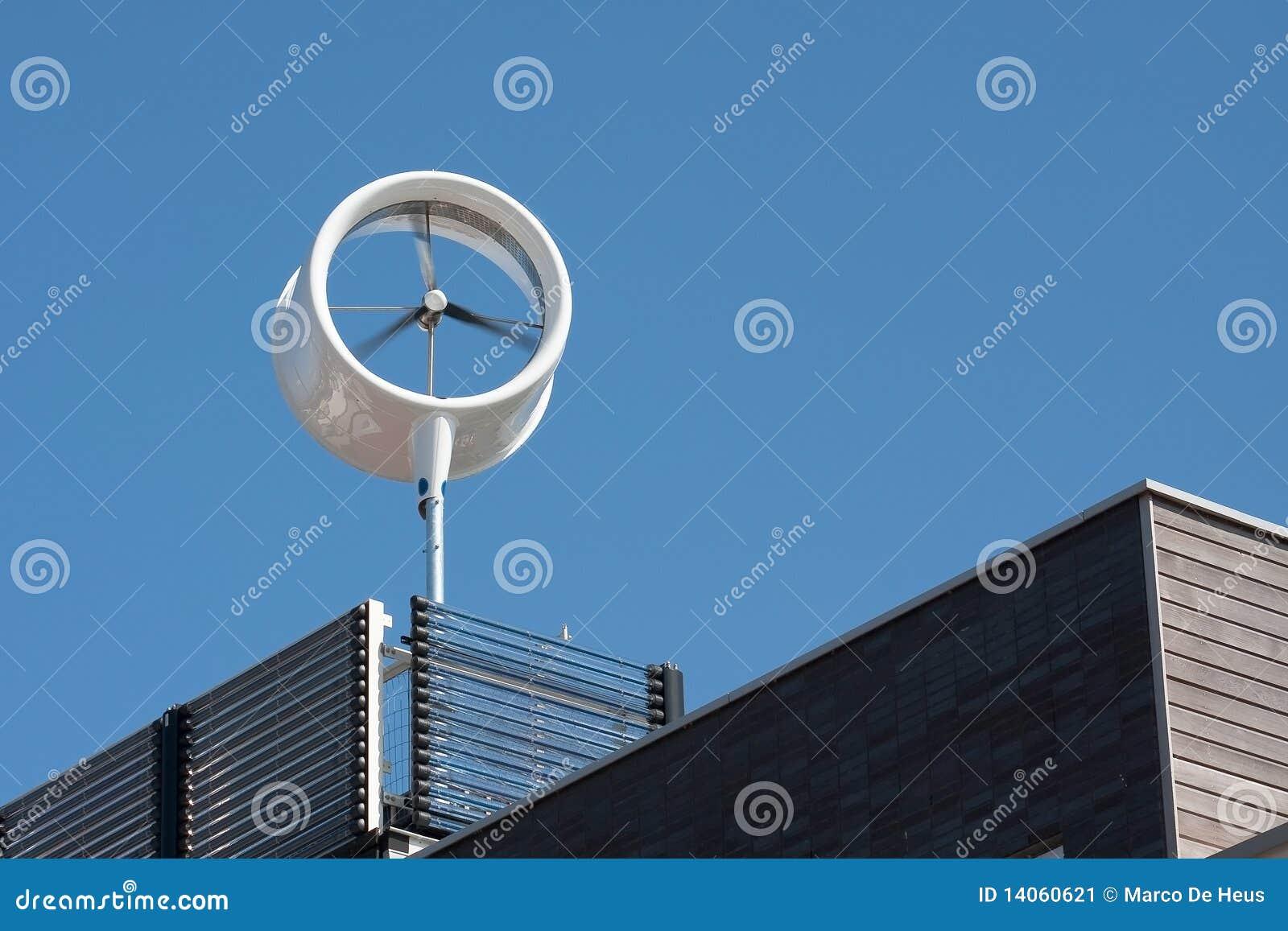 Stads- wind för turbin