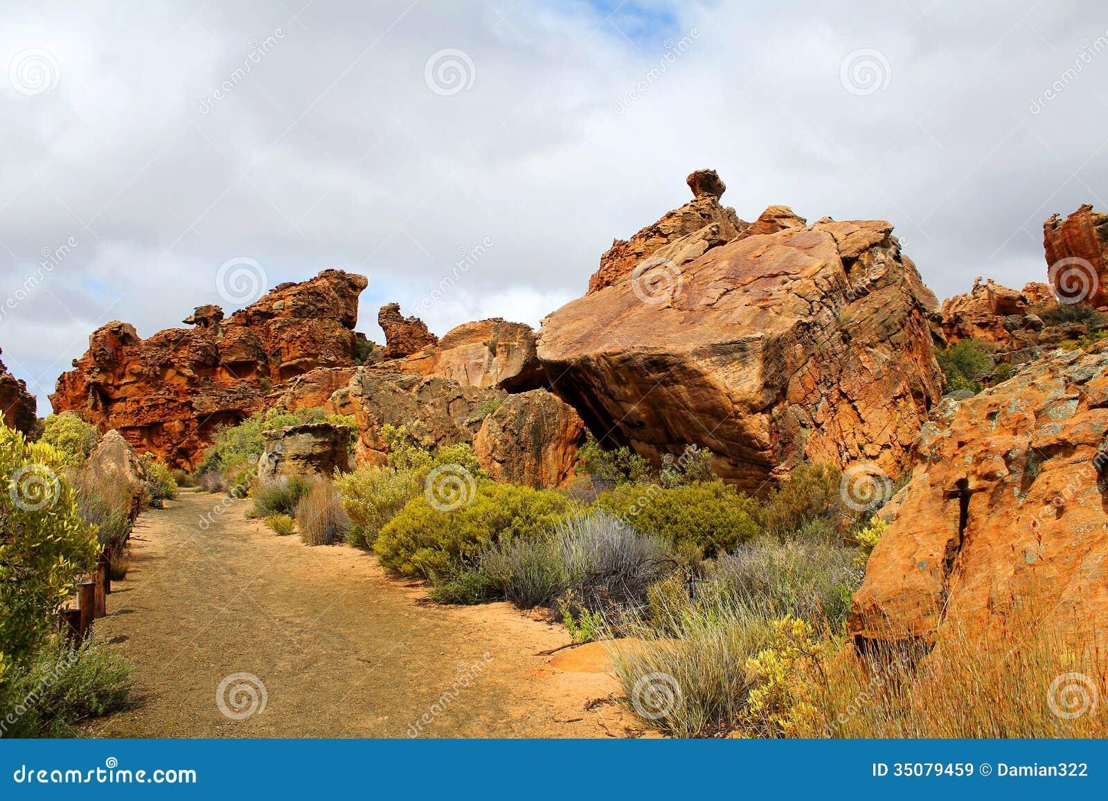Stadsaal caves landscape in the cederberg south africa for Landscape sa