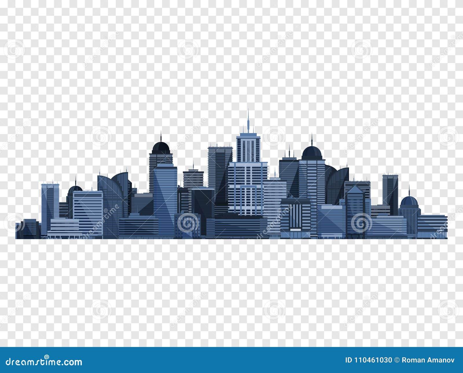 Stadsbegrepp som isoleras på rutig backgound också vektor för coreldrawillustration