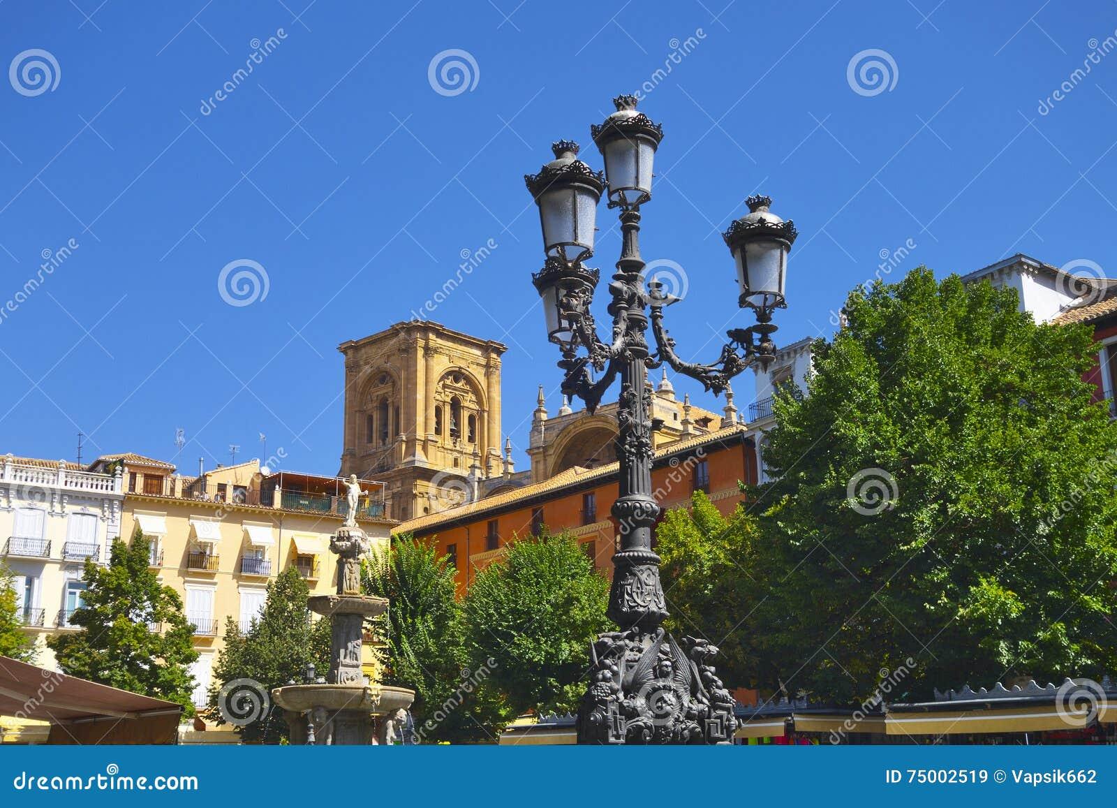 Stadscentrum in Granada