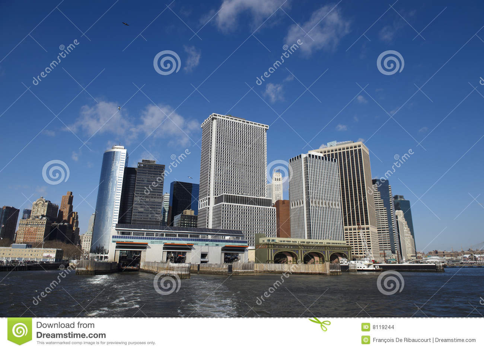 Stadsdock manhattan New York
