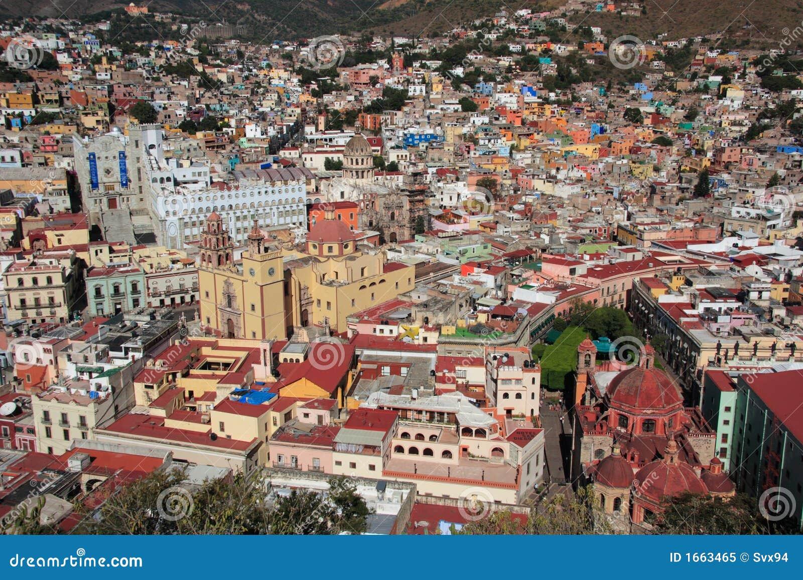 Stadsguanajuato mexico