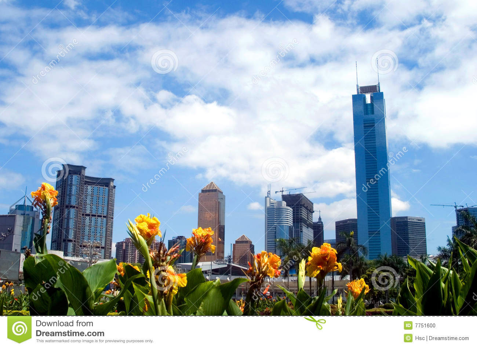 Stadsguangzhou liggande