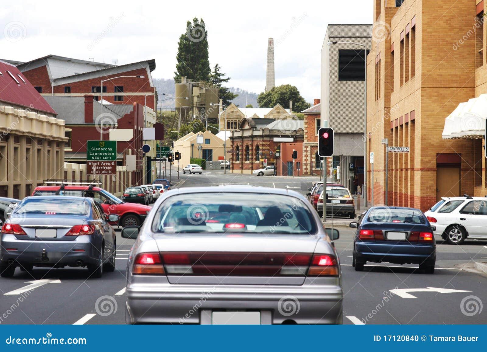 Stadshobart trafik