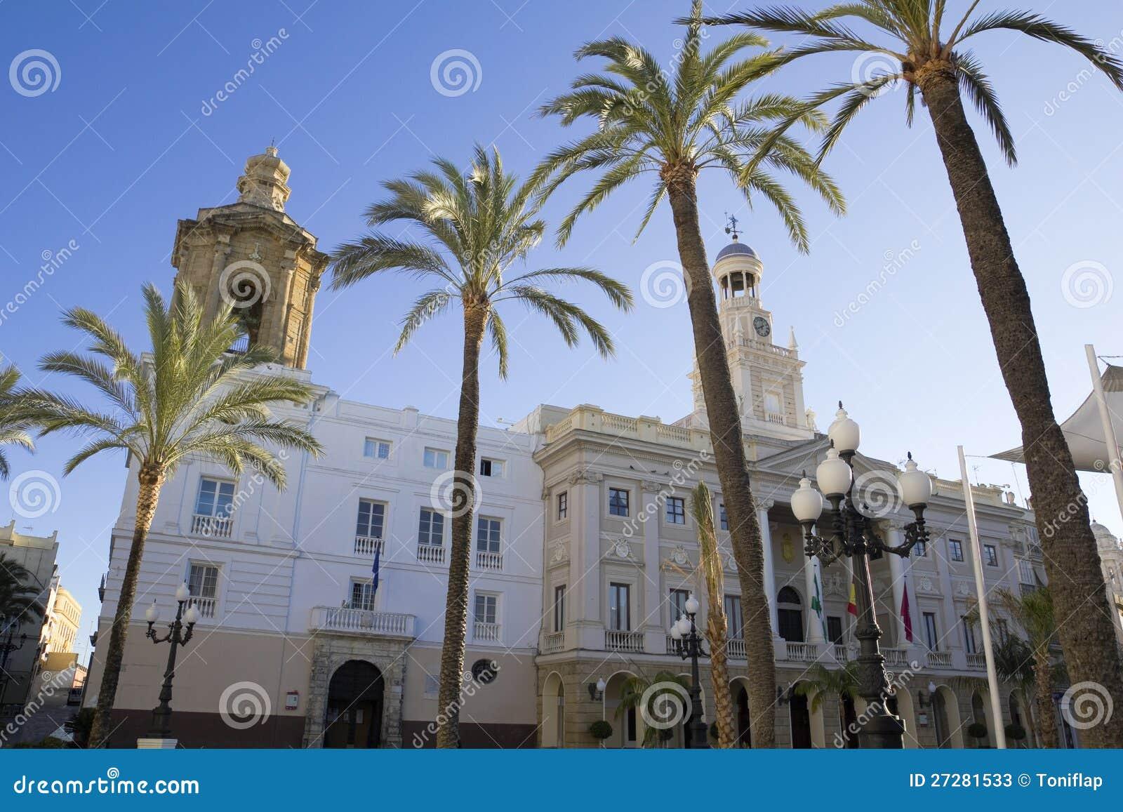 Stadshus av Cadiz.