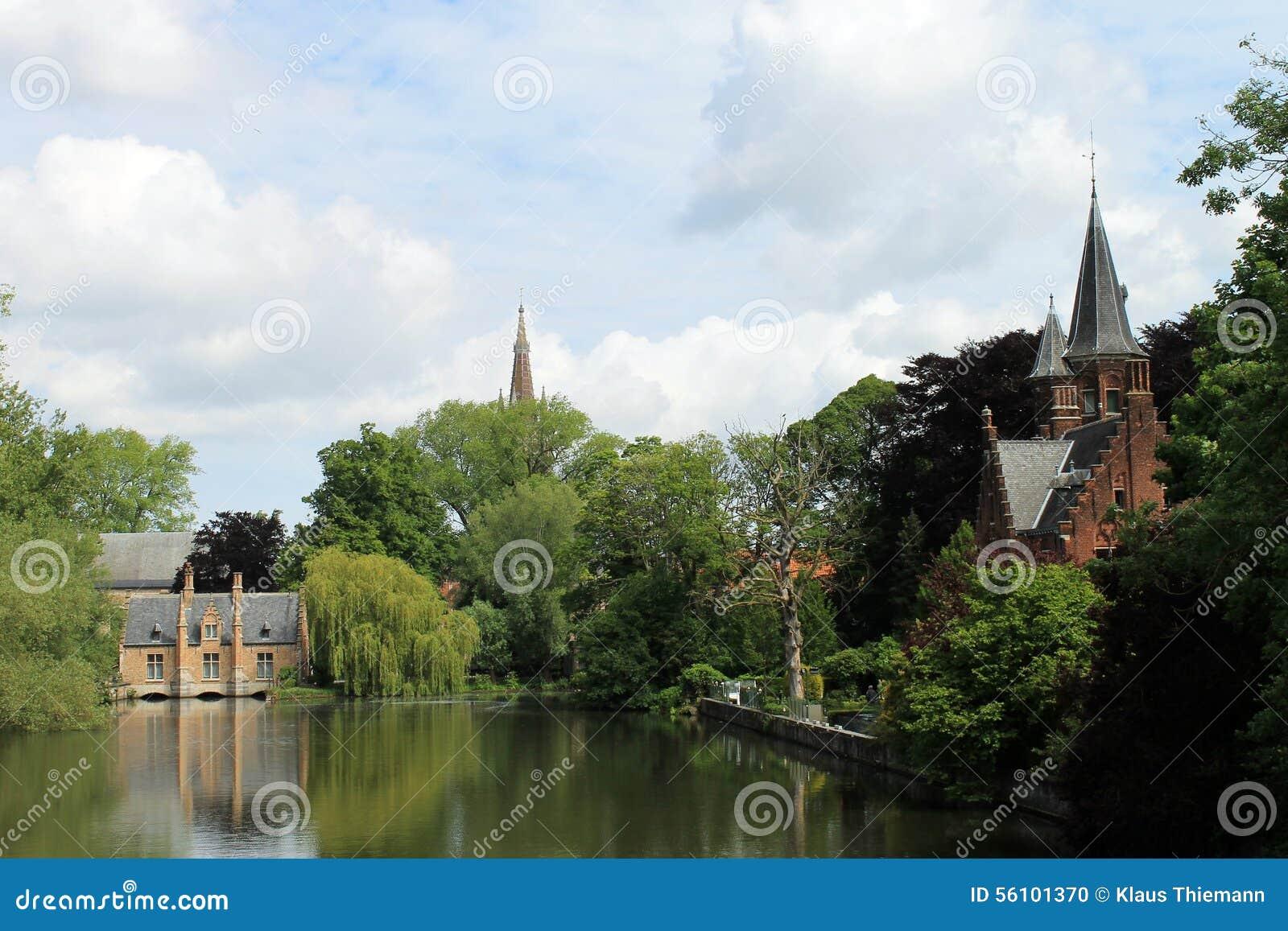 Stadsikter av Brugge (Belgien)
