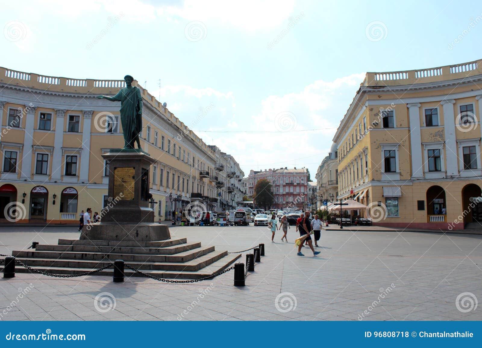 Stadsmening van Odessa, de Oekraïne
