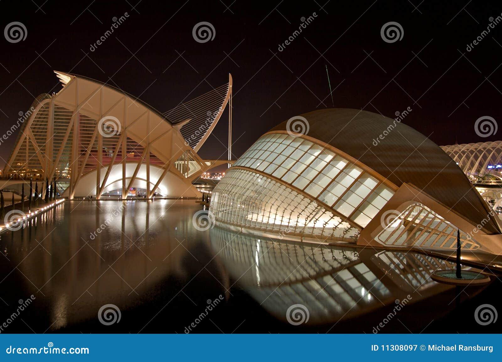 Stadt der Künste und der Wissenschaft, Valencia