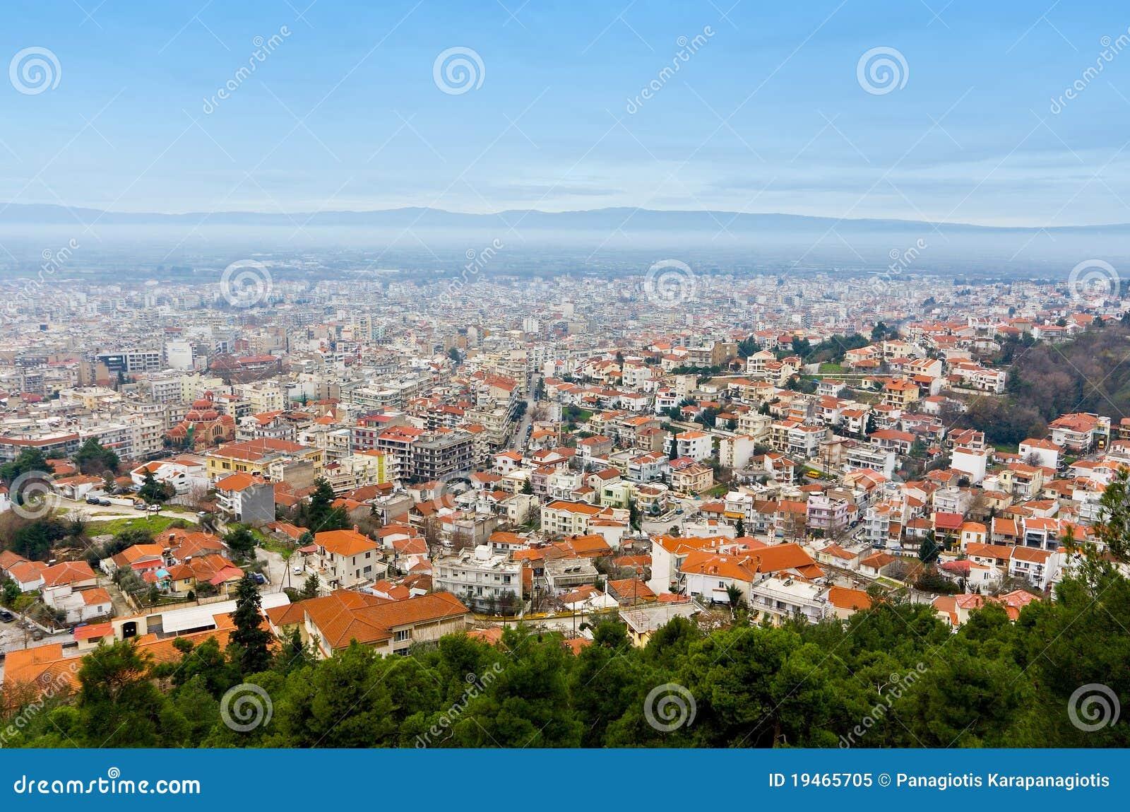 Stadt der Serres-Stadt bei Nordgriechenland