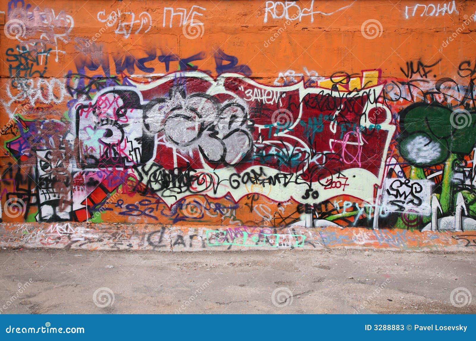Stadt-Graffiti