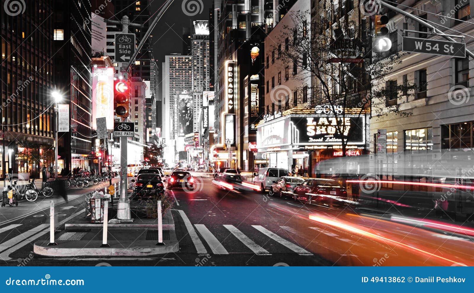 Download Stadt trraffic redaktionelles stockfotografie. Bild von bürgersteig - 49413862