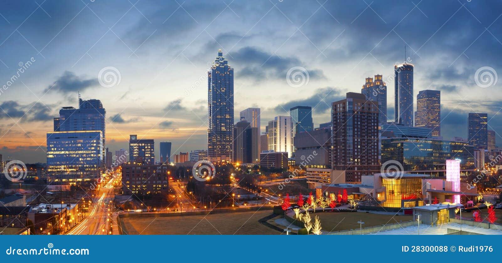 Stadt von Atlanta.