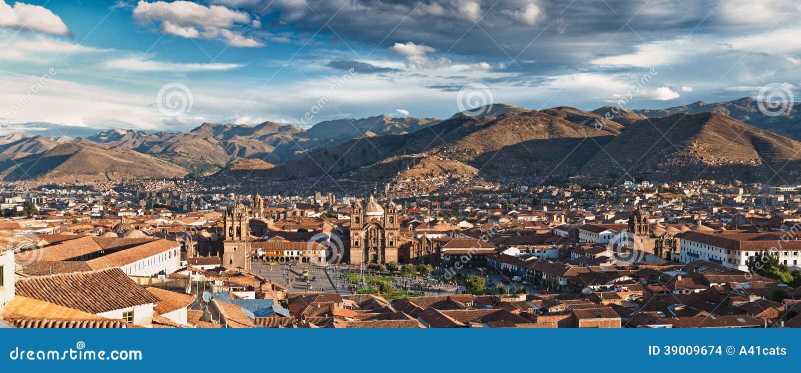 Stadt von Cuzco
