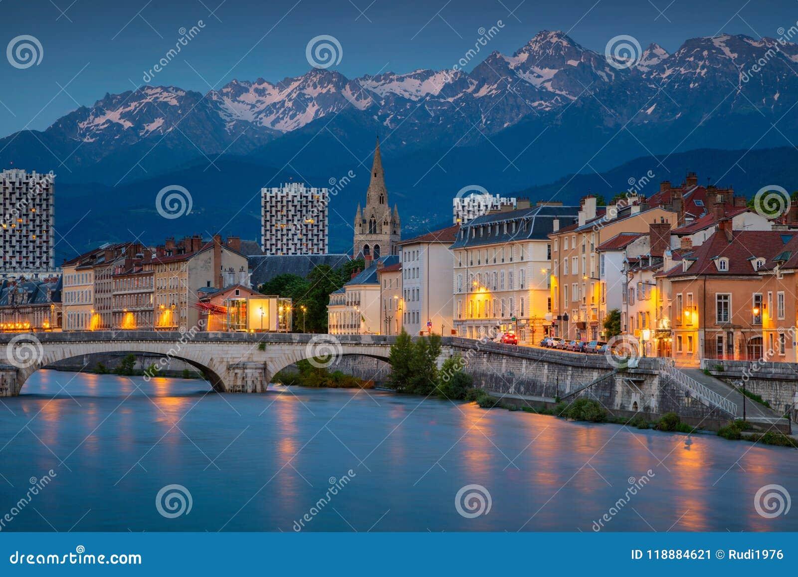 Stadt von Grenoble, Frankreich