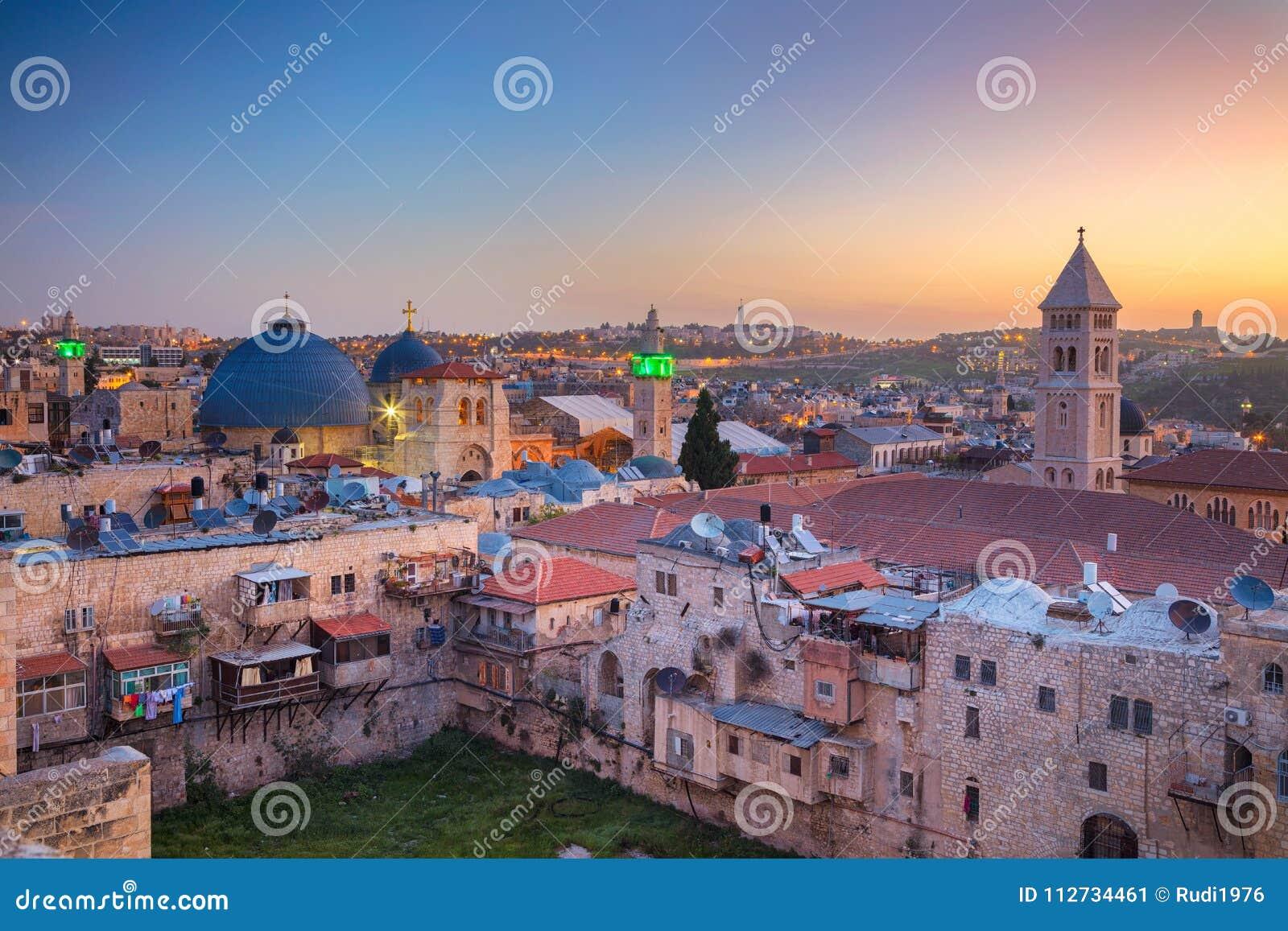 Stadt von Jerusalem, Israel