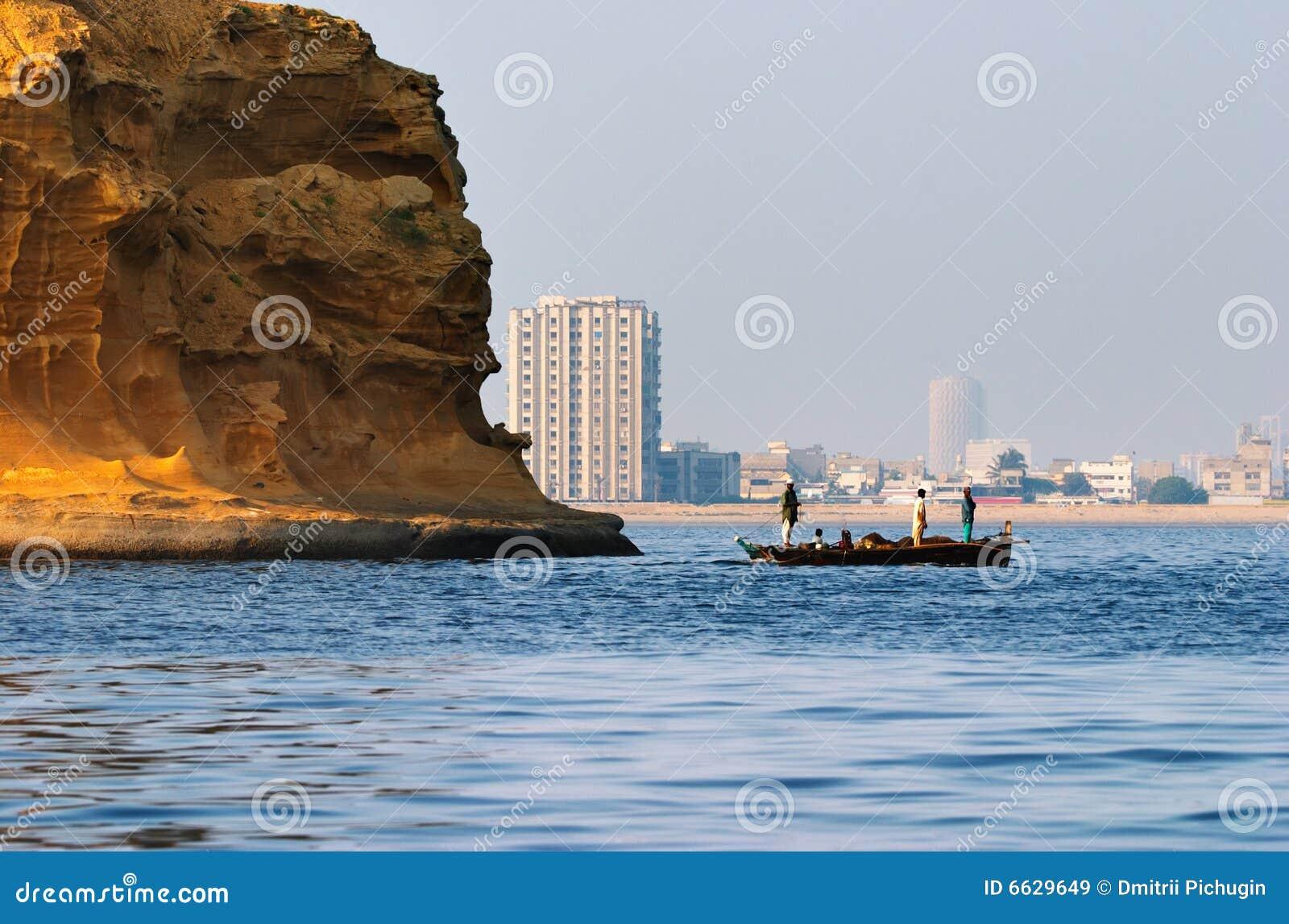 Stadt von Karachi, Pakistan