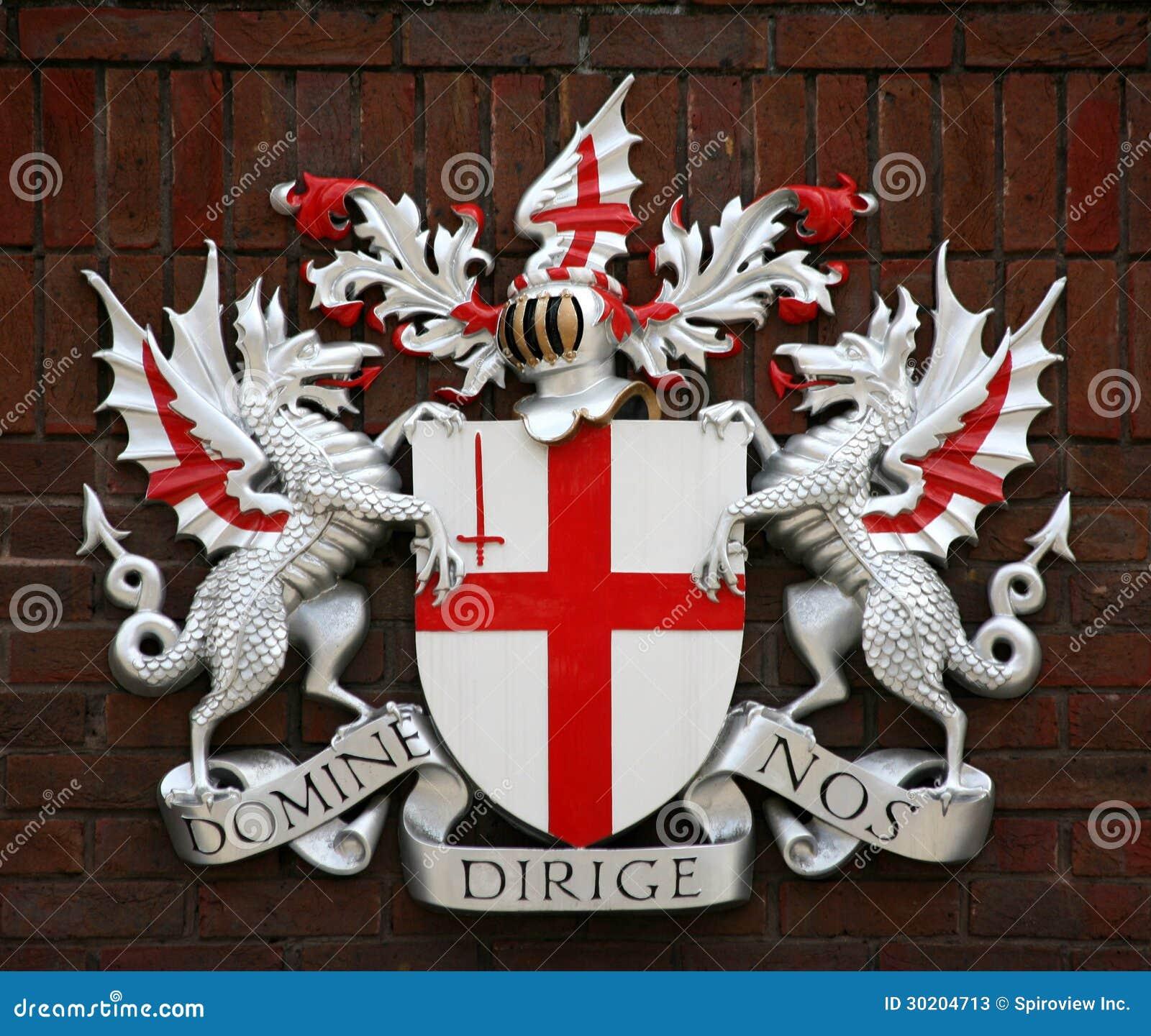 Stadt von London-Wappen
