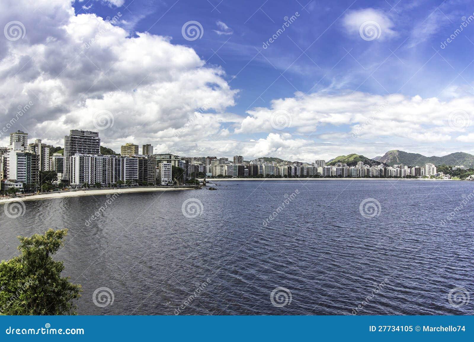 Stadt von Niteroi, Brasilien