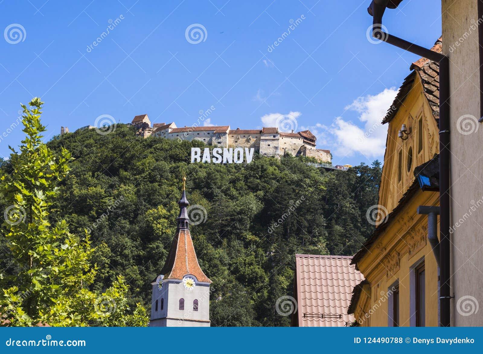 Stadt von Rasnov