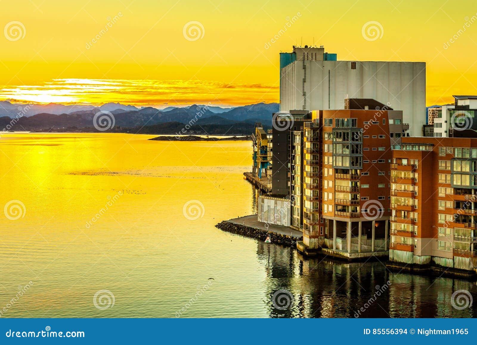 Stadt von Stavanger