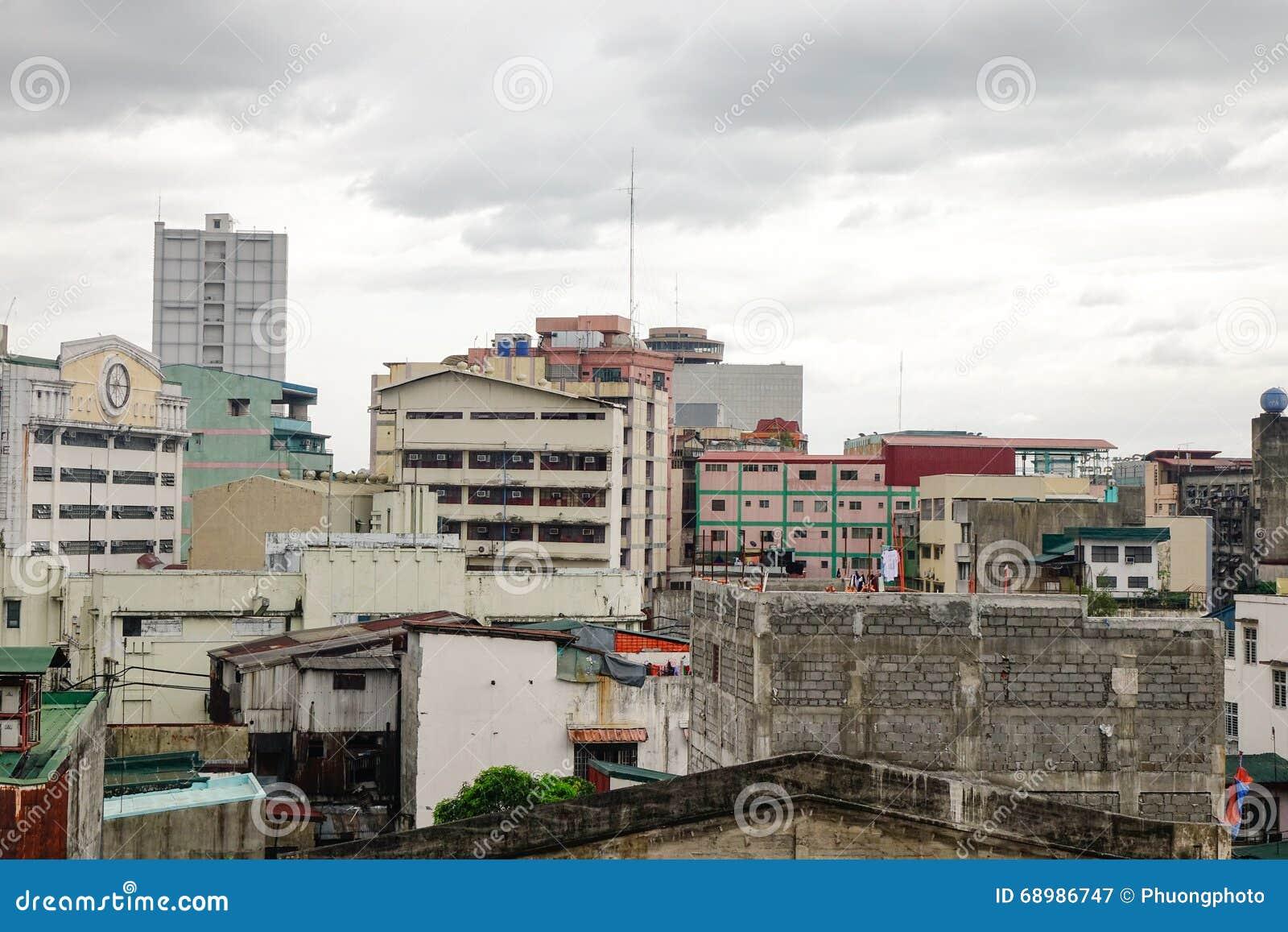 Stadtansicht von Manila, Philippinen