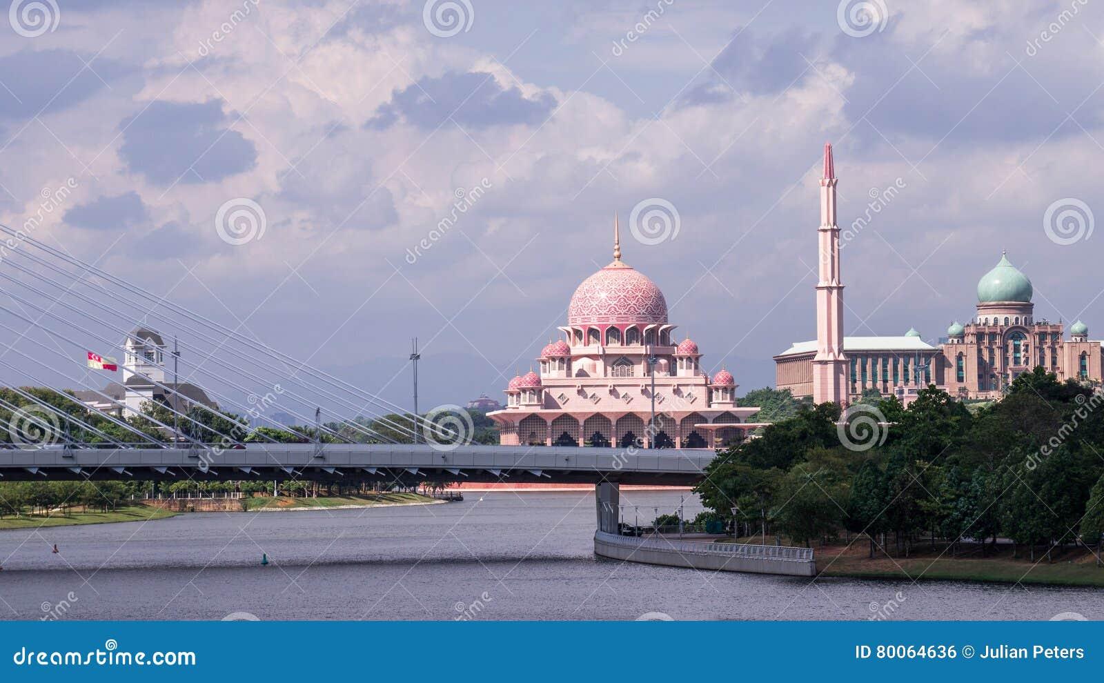 Stadtbild von Putrajaya, Malaysia