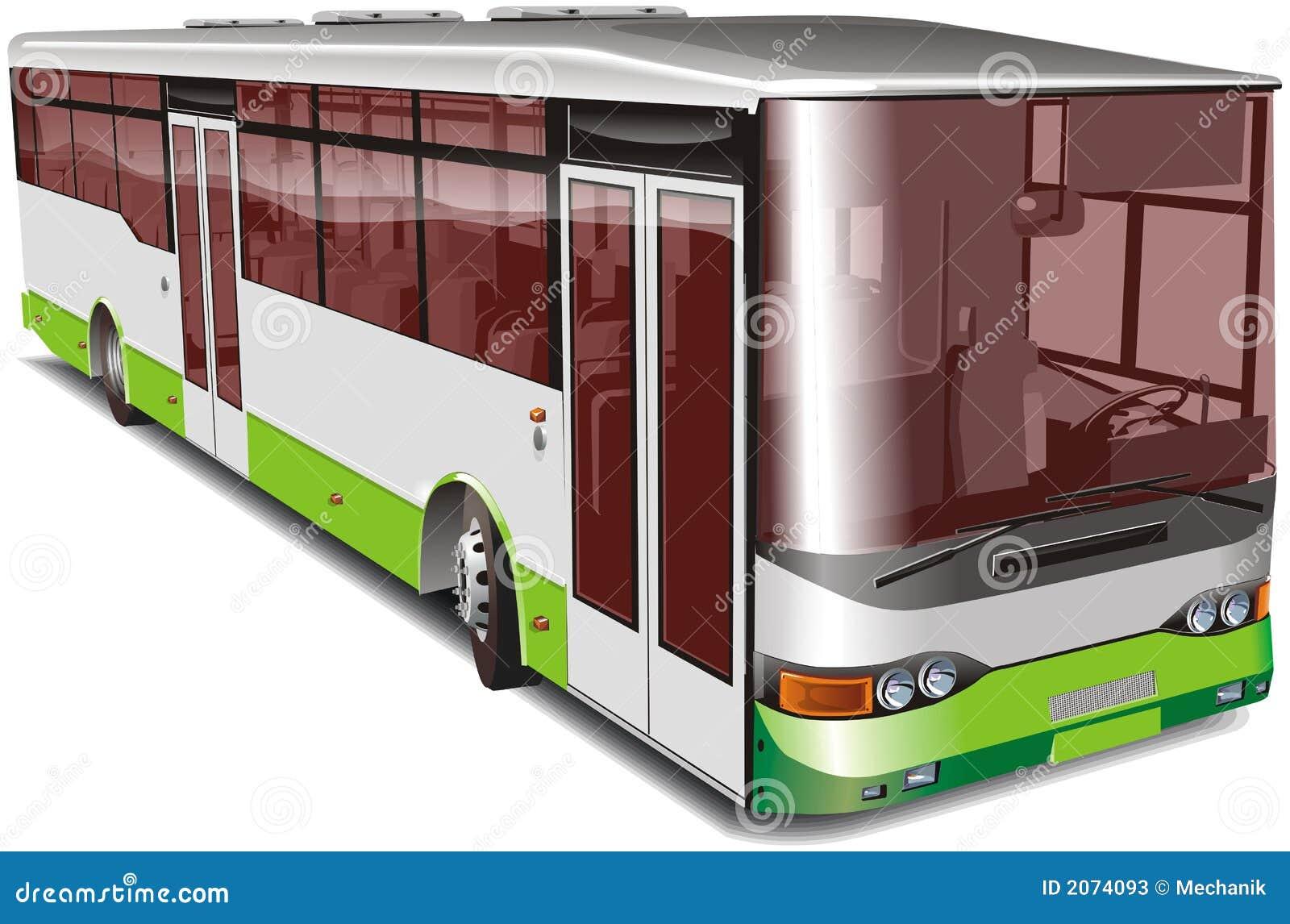 Stadtbus getrennt