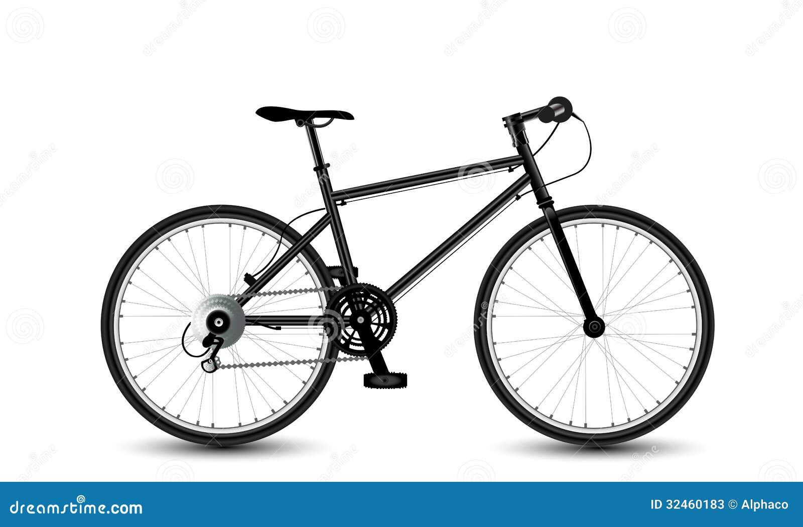 Stadtfahrrad vektor abbildung. Illustration von transport - 32460183