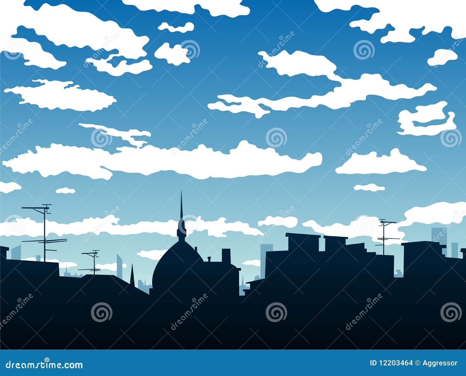 Stadthintergrund