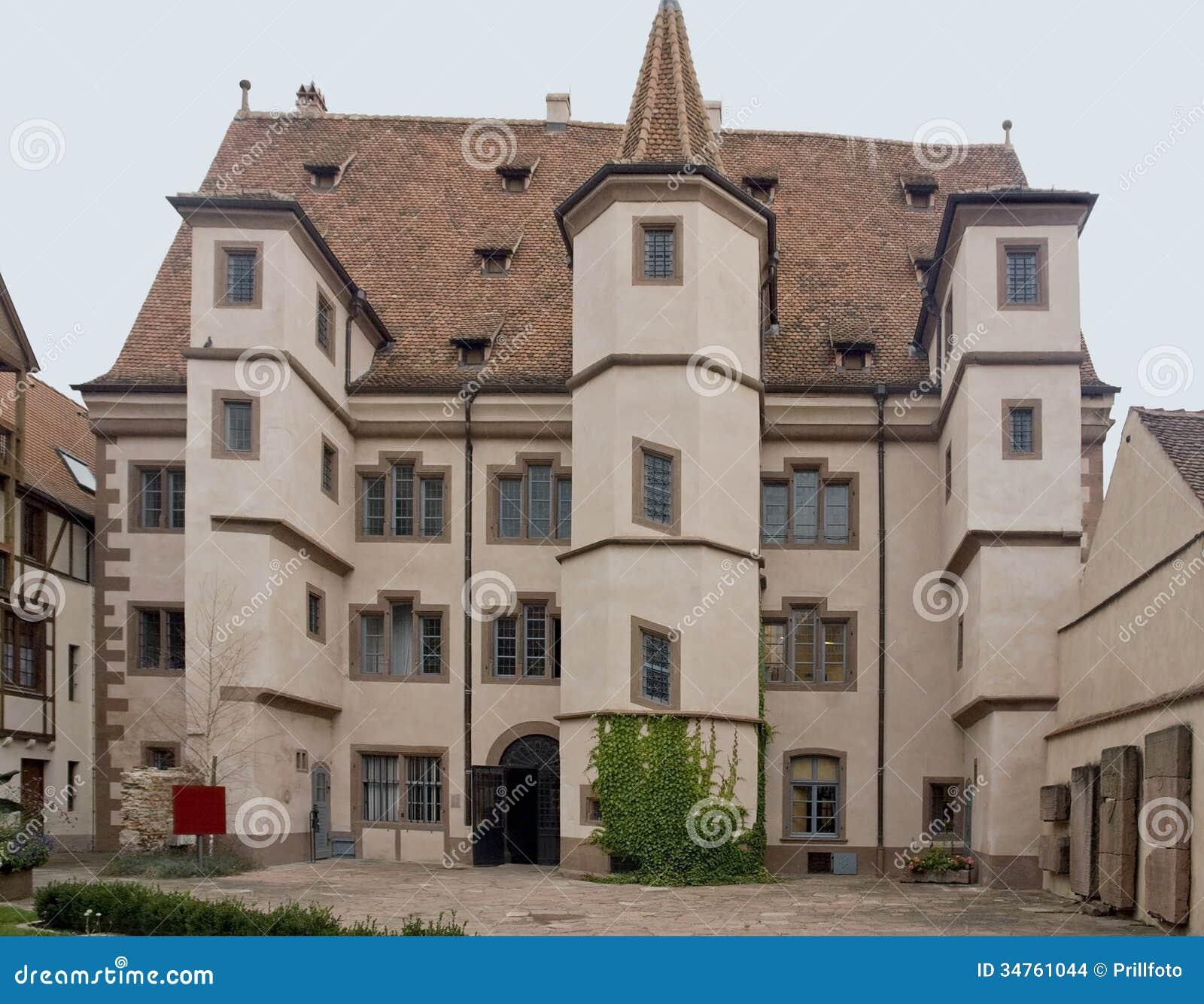 Stadtresidenz ebersmunster in selestat stock images for Designhotel elsass