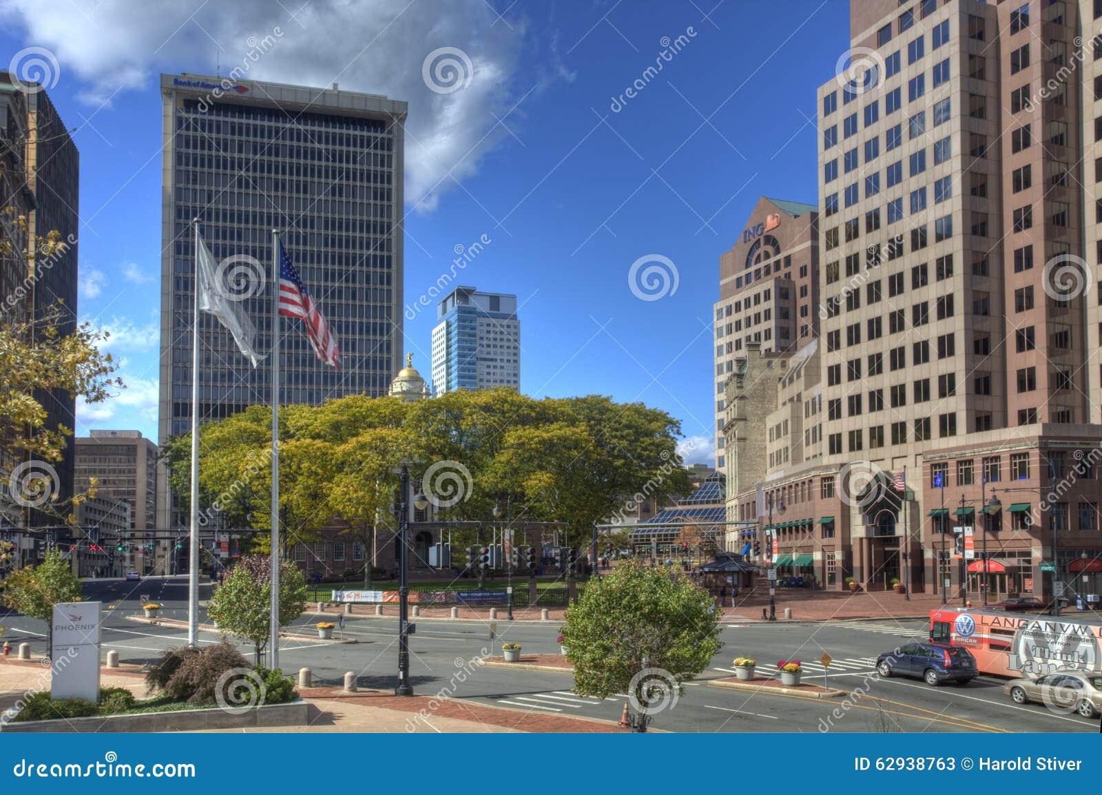 Stadtzentrum Hartfords, Connecticut